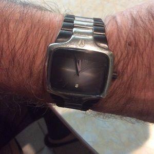 Vintage man's wrist watch by Nixon.